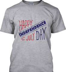 Happy Independence Day. 4th of July. Gildan Tall Ultra Cotton T-Shirt.