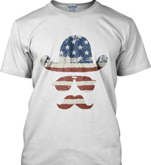 Do you even know how to Patriot Bro? Gildan Tall Ultra Cotton T-Shirt.