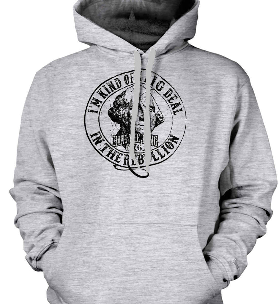 I'm Kind of Big Deal in the Rebellion. Gildan Heavyweight Pullover Fleece Sweatshirt.-2