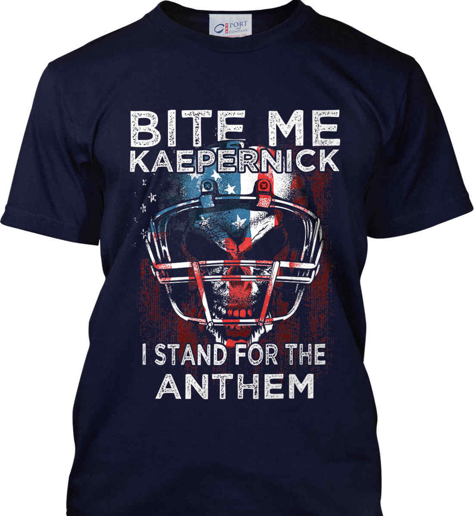 Kaepernick. I Stand for the Anthem. Port & Co. Made in the USA T-Shirt.-2