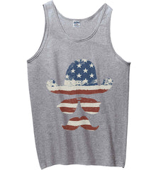 Do you even know how to Patriot Bro? Gildan 100% Cotton Tank Top.