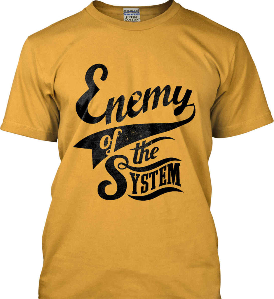 Enemy of The System. Gildan Ultra Cotton T-Shirt.-2