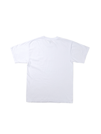 3D Wave Tee - White