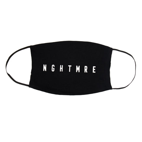 LOGO FACE MASK - BLACK