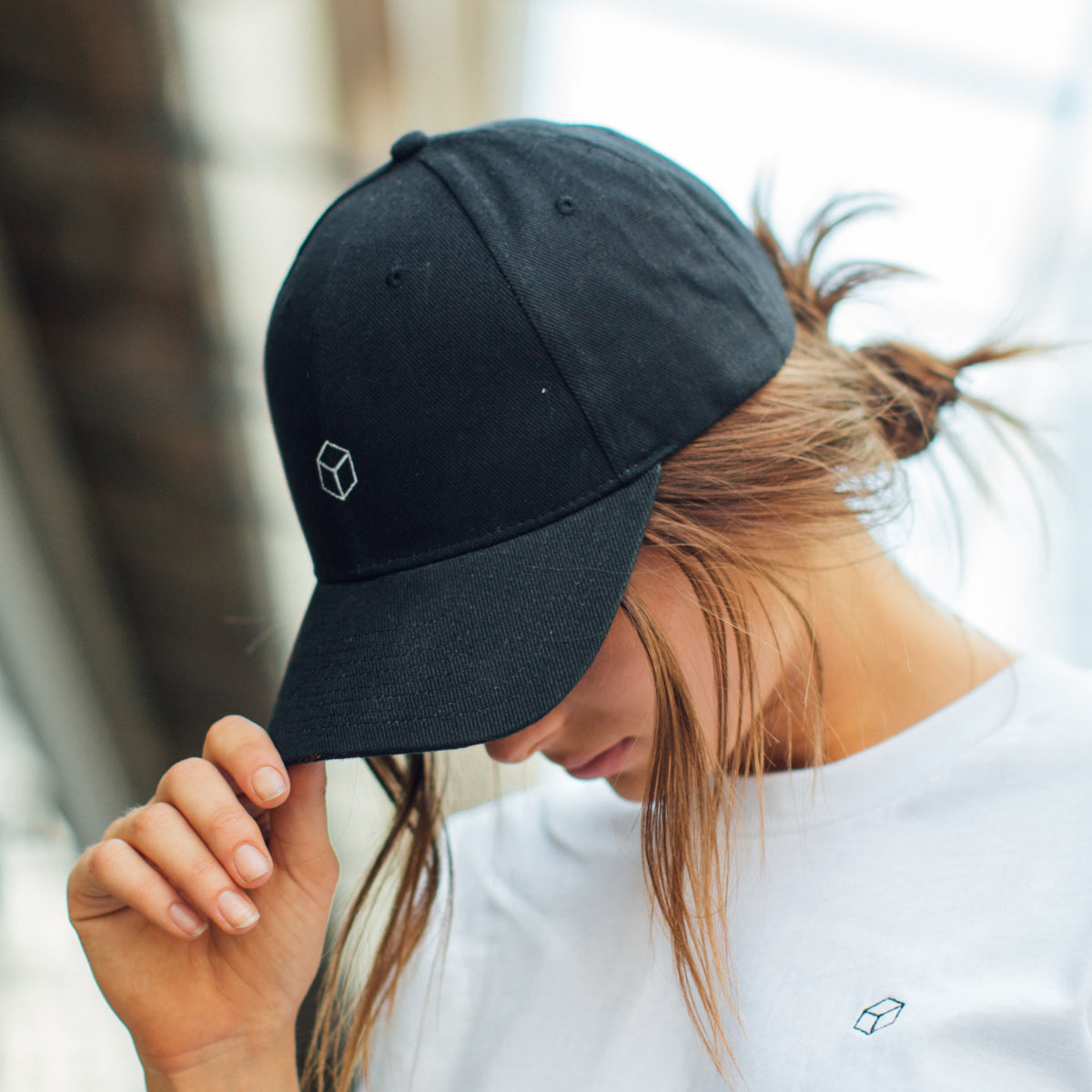Cube Dad Hat - Black