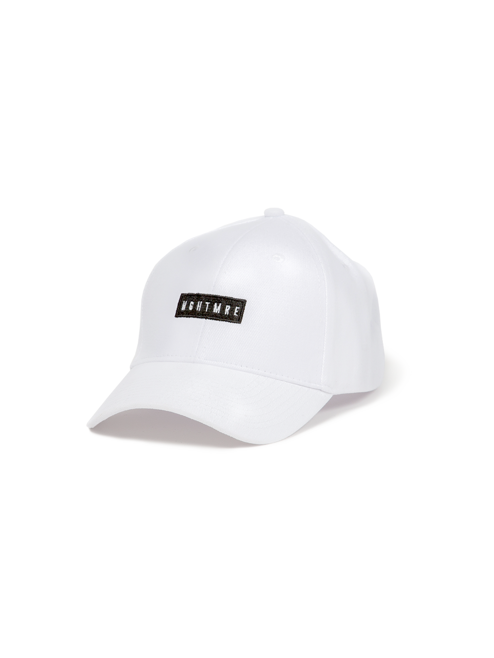 Box Dad Hat - White