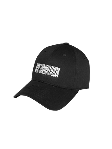 GUD Vibrations x4 Dad Hat - Black