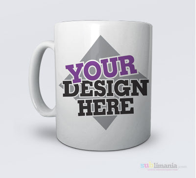 Blanks and personalised sublimation mugs