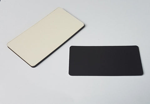 50 x Blank Sublimation MDF Rectangle 7.5cm x 4cm Fridge Magnet