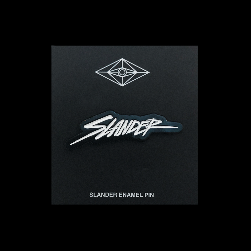 Slander Logo Embossed Pin