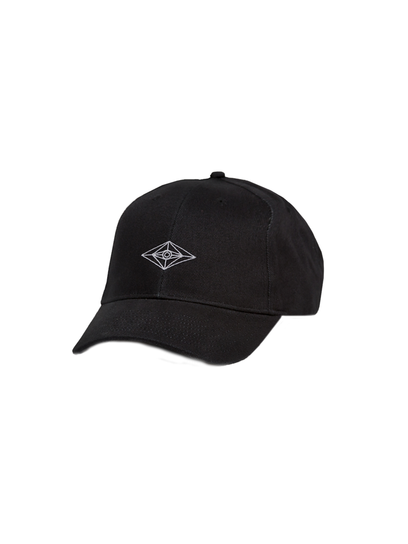 All-Seeing Eye Dad Hat - Black