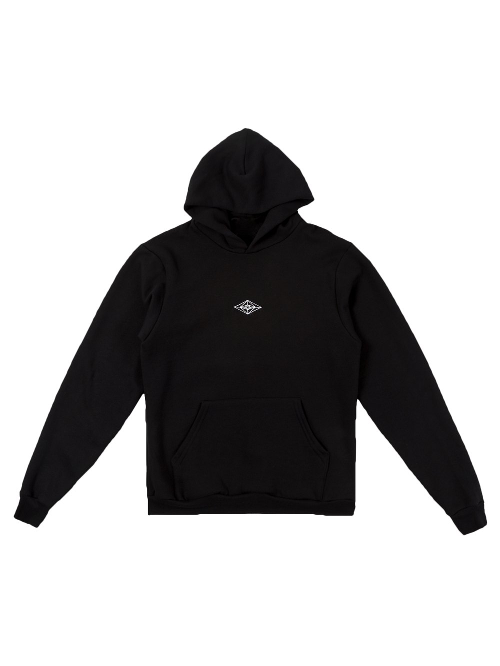 All-Seeing Eye Box Hoodie - Black