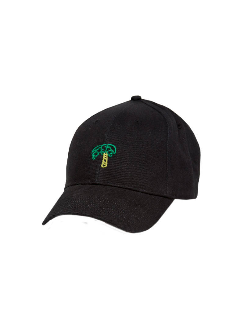 GV Palm Dad Hat - Black