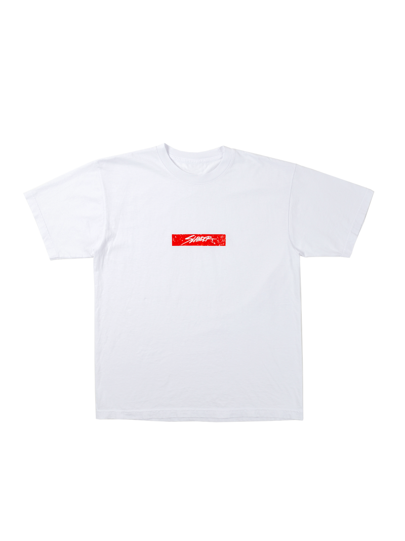 Slander Box Tee - White