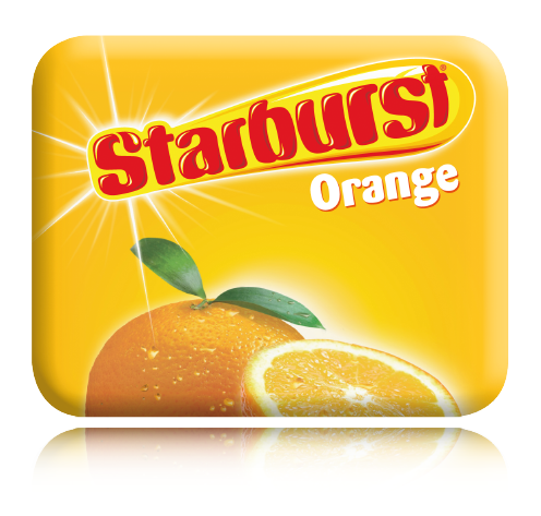 Starburst® Orange (Small Cases)