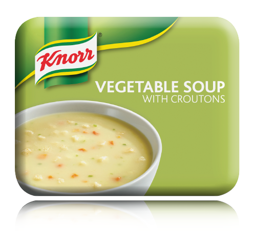 Knorr Vegetable Soup With Croutons (Small Cases)