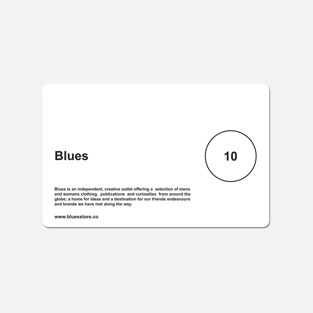 Blues Gift Card - £10