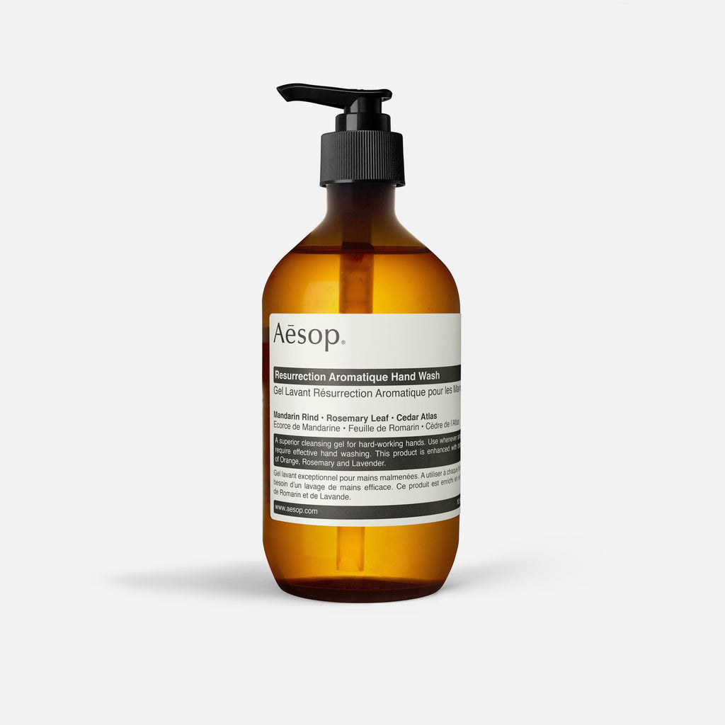 500ml Resurrection Aromatique Hand Wash from Aesop blues store www.bluesstore.co