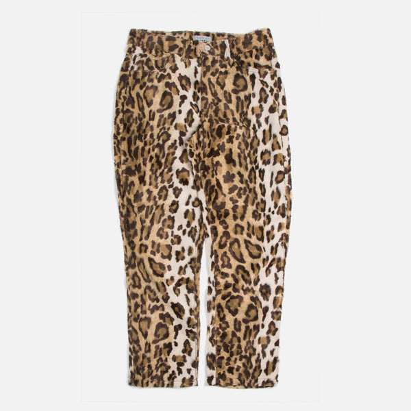 Ashley Jeans Faux Leopard Fur blues store www.bluesstore.co