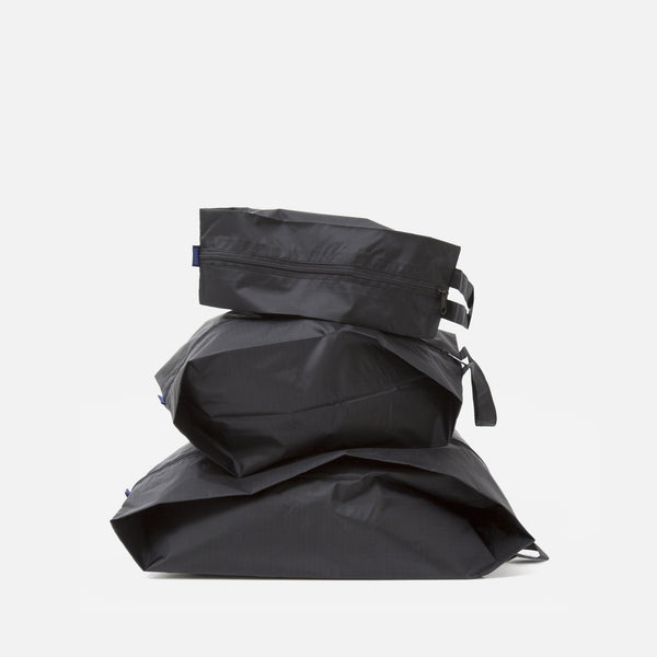 Baggu 3D zip set in black blues store