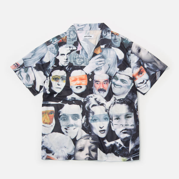 Fucking Awesome Jersey Mesh Club Shirt with Collage Print blues store www.bluesstore.co