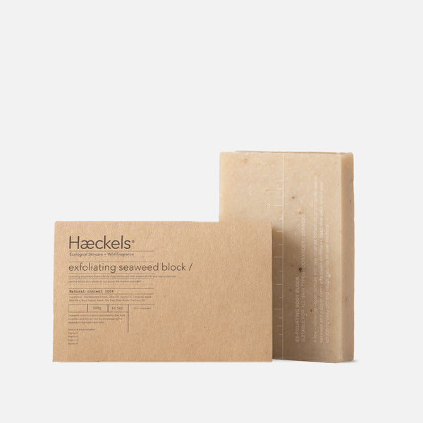 Haeckels Large Exfoliating Seaweed Block 320 grams Blues Store