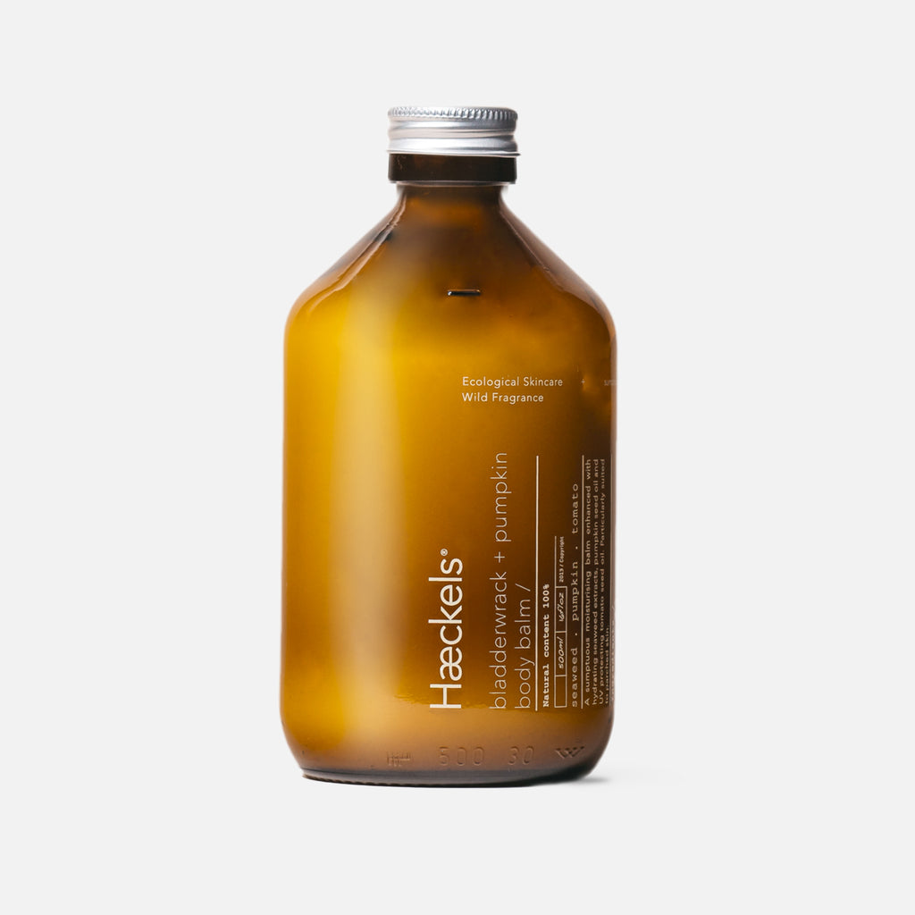 Haeckels Bladderwrack + Pumpkin Body Balm - 500ml Blues Store www.bluesstore.co