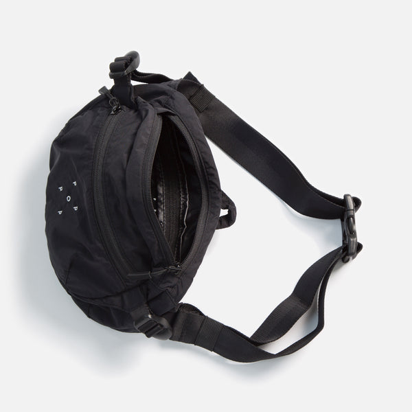 Hipbag in Black from the Pop Trading Company Spring / Summer 2020 collection blues store www.bluesstore.co