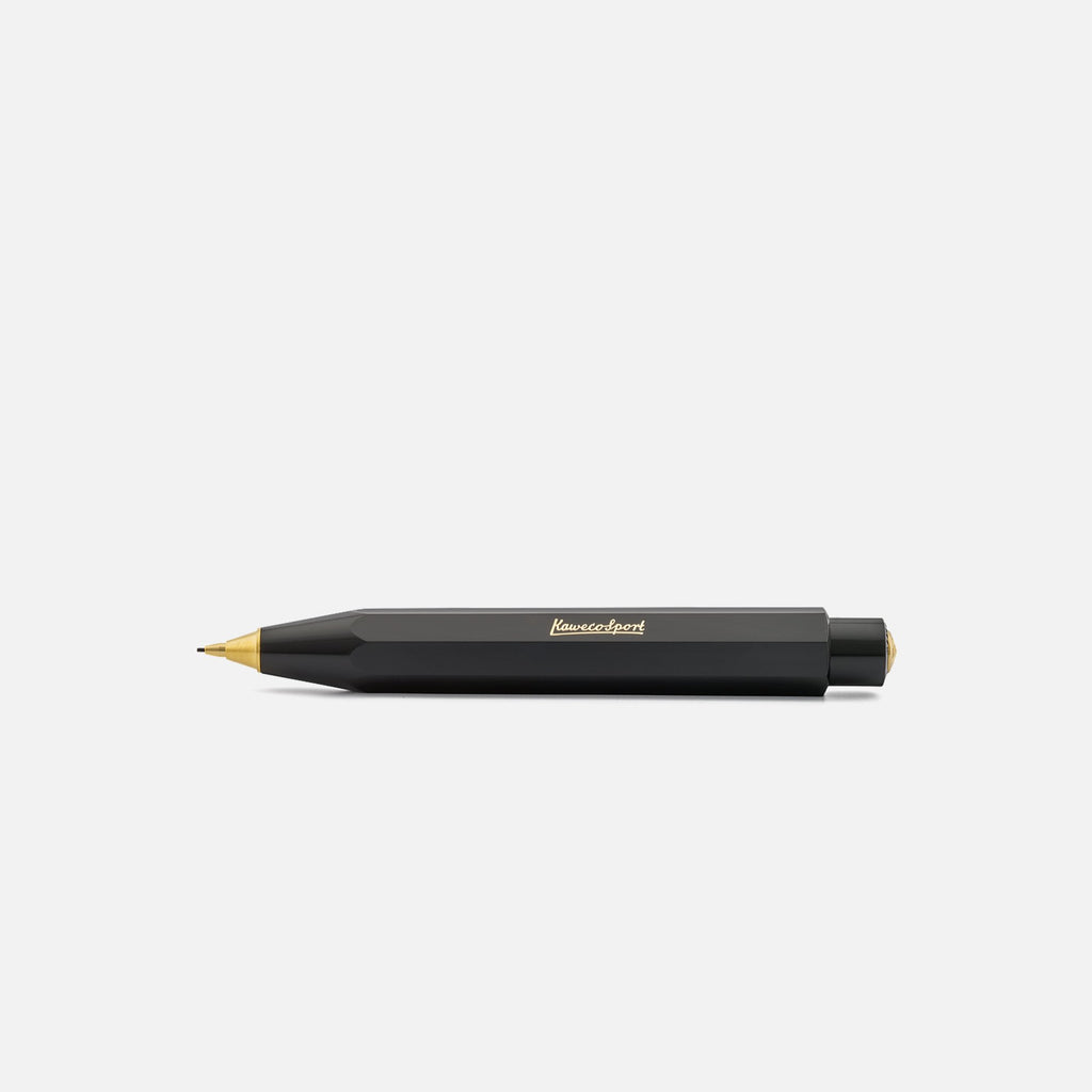 Kaweco Classic Sport mechanical pencil in black blues store www.bluesstore.co