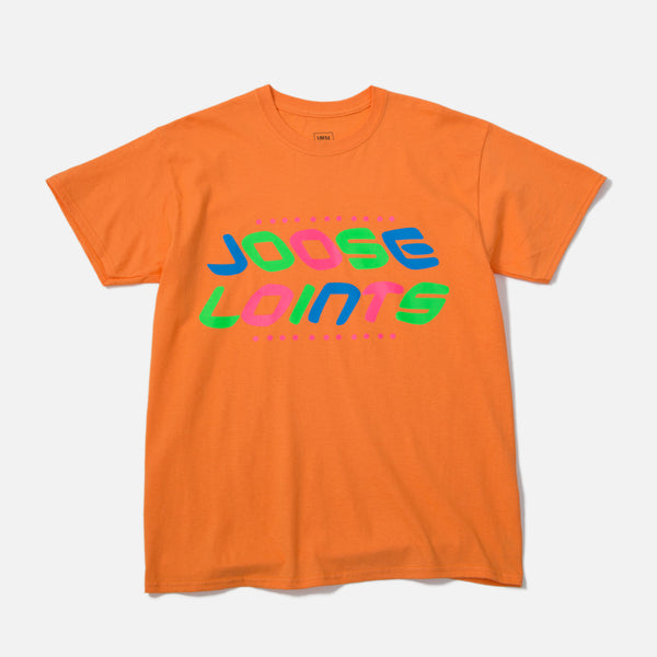 LOOSEJOINTS Joose Loints T-shirt in Orange by SKATETHING blues store www.bluesstore.co