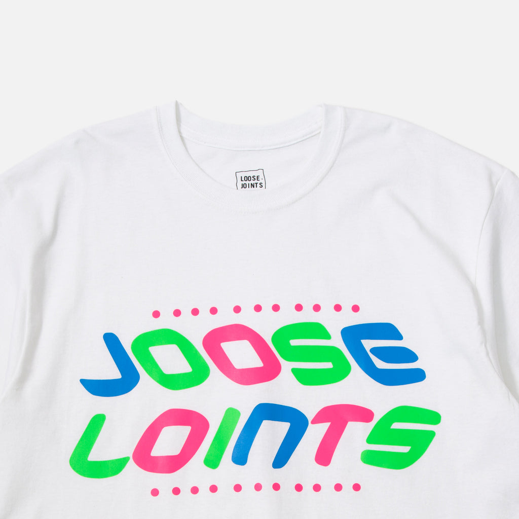 LOOSEJOINTS Joose Loints T-shirt in White by SKATETHING blues store www.bluesstore.co