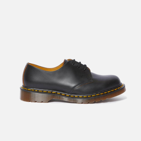 Made in England Dr Martens 1461 Black Quilon blues store www.bluesstore.co