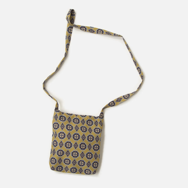 Mini Book Bag with Khaki print from Needles Spring / Summer 2020 collection blues store www.bluesstore.co