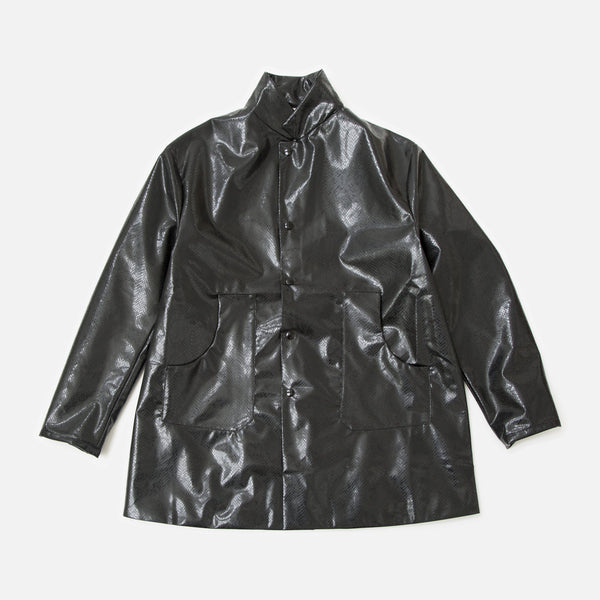 Needles Shop Coat in Black Python from Needles Spring / Summer 2020 collection blues store www.bluesstore.co