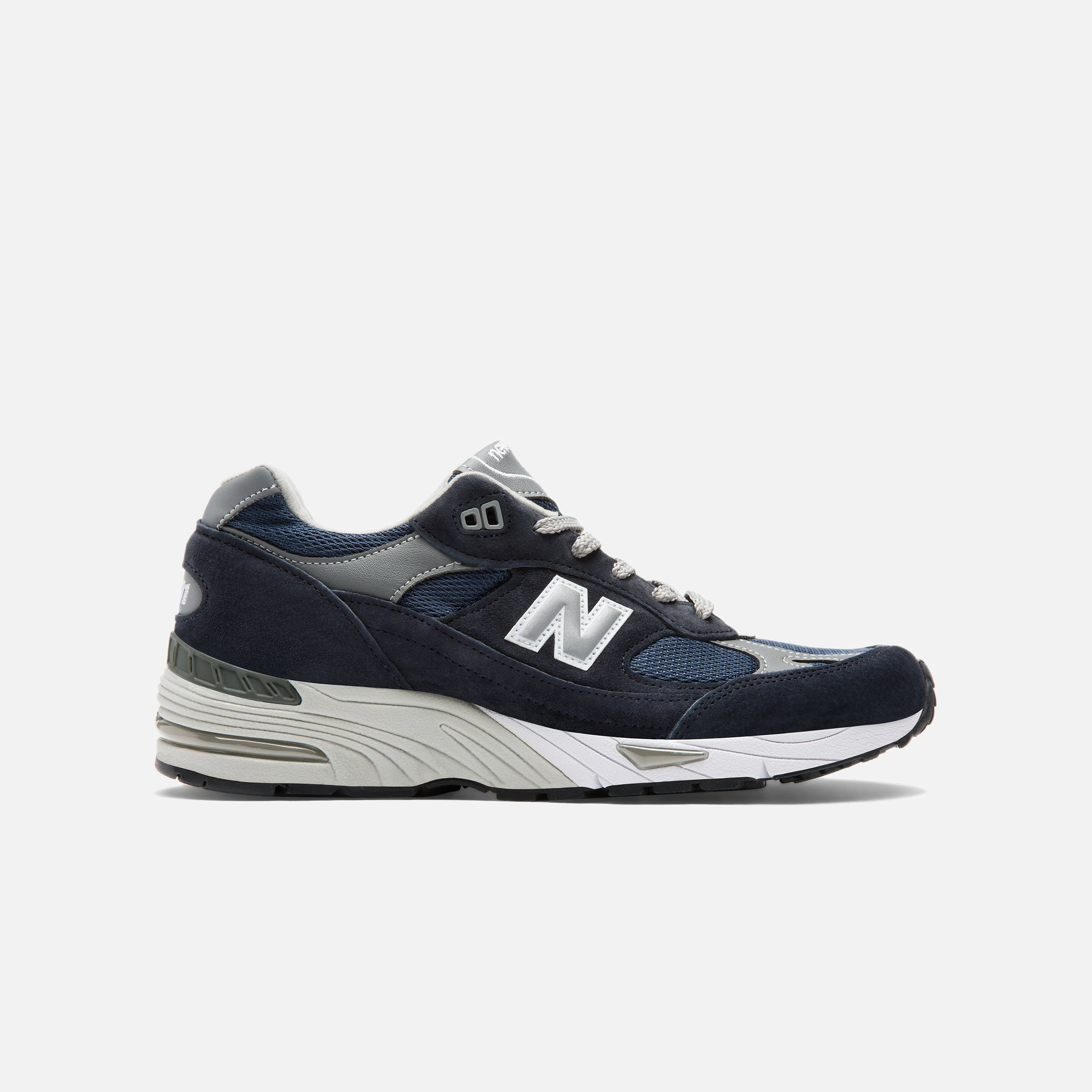 Made in England 991 in Navy | Blues Store