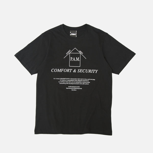 P.A.M. Perks & Mini ACAB SS T-shirt in Black blues print www.bluesstore.co