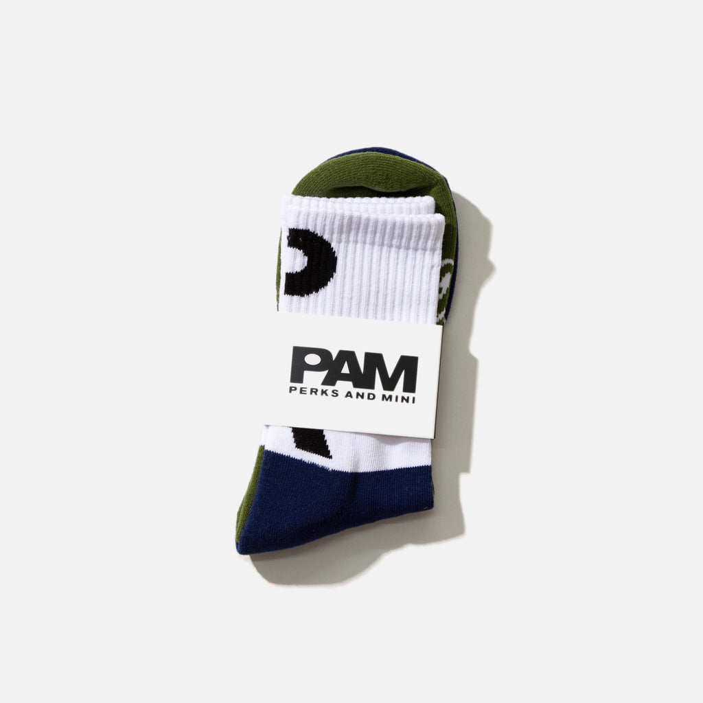 Nu/Age Sport Socks from the P.A.M. (Perks and Mini) Spring / Summer 2021 collection.  Very comfy cotton mix blend socks blues store www.bluesstore.co