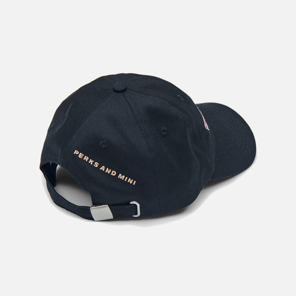 Post-Human Baseball Cap in Black from the P.A.M (Perks and Mini) Nu Age spring / summer 2021 collection blues store www.bluesstore.co