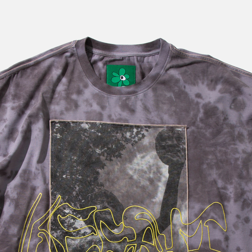 Keep it Ethereal Oversized Reversible T-shirt with Marble dye finish from the spring / summer 2021 P.A.M (Perks & Mini) Nu Age collection blues store www.bluesstore.co