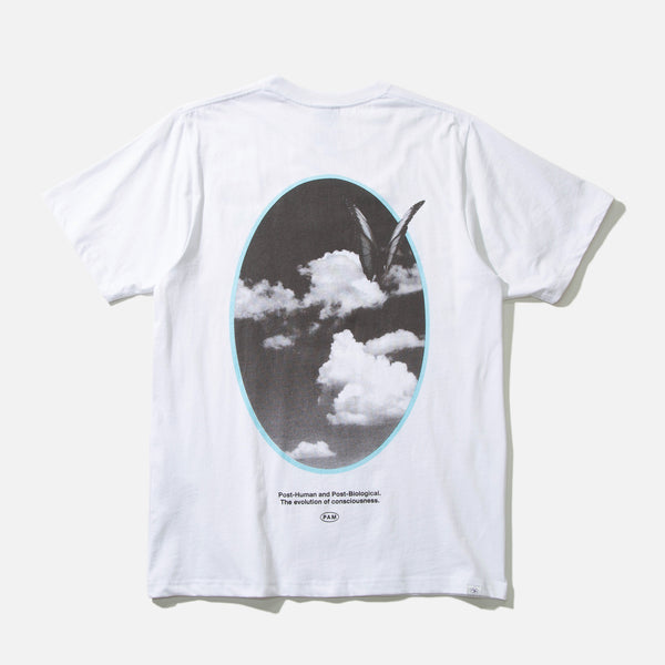 Window on Ethereal T-shirt in White from the spring / summer 2021 P.A.M (Perks & Mini) Nu Age collection blues store www.bluesstore.co
