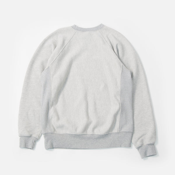 Paa Crewneck Sweatshirt Two in Heather Grey blues store www.bluesstore.co