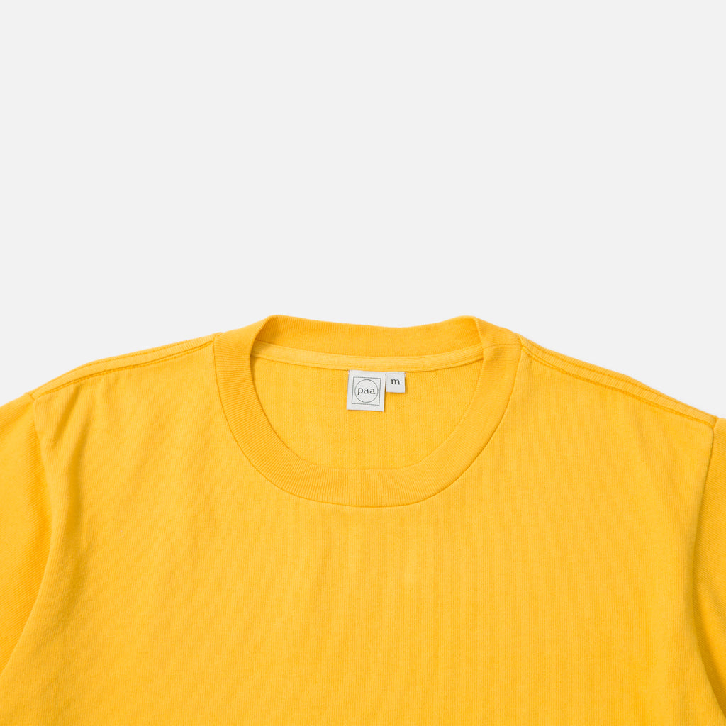Paa Pocket T-shirt in Golden Yellow blues store www.bluesstore.co