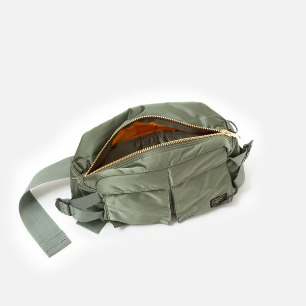 2-Way Waist Bag from Porter Yoshida in Sage Green