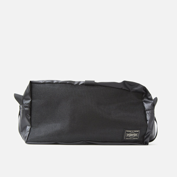 Medium Snack Pouch from Porter Yoshida in Black Blues Store