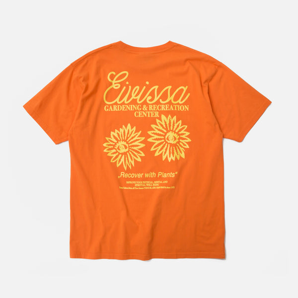 Public Possession Eivissa T-shirt in Sunset Orange Blues Store
