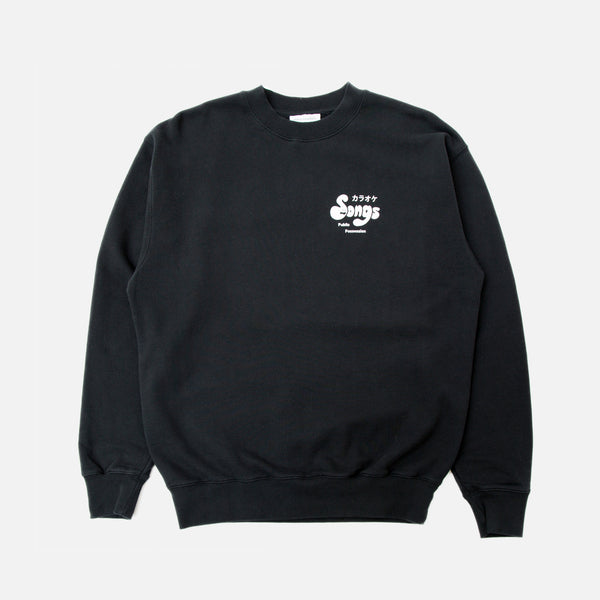 Public Possession Karaoke Tribute Club Sweatshirt in Black Blues Store