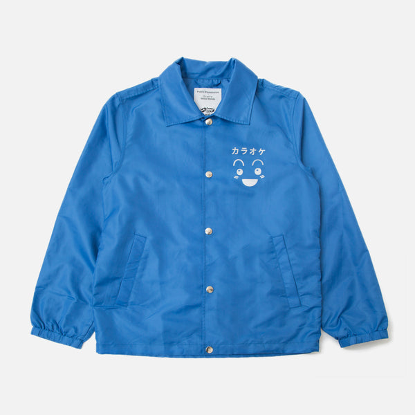 Public Possession Karaoke Tribute Club Windbreaker in Royal Blue Blues Store