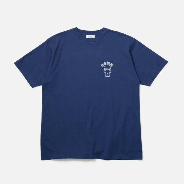 Public PossessionCoba T-shirt in Navy blues store www.bluesstore.co