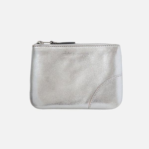 Comme des Garcons Classic Leather - Silver SA8100G