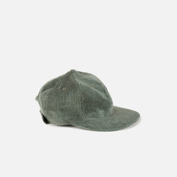 Cord cap in Emerald from the spring summer 2020 Satta collection blues store www.bluesstore.co